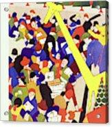 New Yorker December 17 1927 Acrylic Print