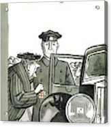 New Yorker December 20th, 1958 Acrylic Print