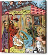 New Yorker December 22nd, 1962 Acrylic Print