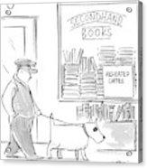 New Yorker December 22nd, 1997 Acrylic Print