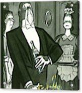 New Yorker December 25th, 1948 Acrylic Print