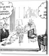 New Yorker December 30th, 1985 Acrylic Print