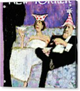 New Yorker December 31st, 1966 Acrylic Print