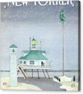New Yorker December 3rd, 1984 Acrylic Print