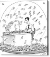 New Yorker December 6th, 1999 Acrylic Print