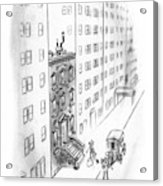 New Yorker February 17th, 1940 Acrylic Print