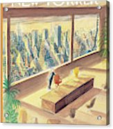 New Yorker February 2nd, 1998 Acrylic Print