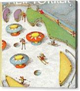 New Yorker February 4th, 1991 Acrylic Print