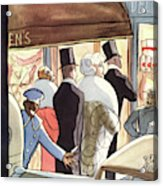 New Yorker January 14th, 1933 Acrylic Print