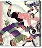 New Yorker January 15th, 1927 Acrylic Print