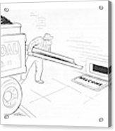 New Yorker January 15th, 1944 Acrylic Print