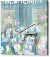 New Yorker January 15th, 1990 Acrylic Print