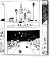 New Yorker January 16th, 1978 Acrylic Print
