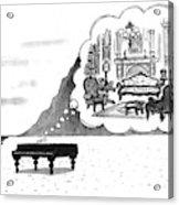 New Yorker January 24th, 1994 Acrylic Print