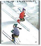 New Yorker January 24th, 2000 Acrylic Print