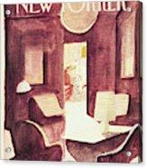 New Yorker January 25th, 1982 Acrylic Print