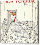 New Yorker January 5th, 1981 Acrylic Print