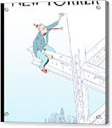 New Yorker January 7th, 2008 Acrylic Print