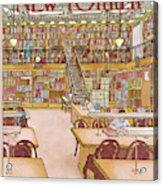 New Yorker January 9th, 1984 Acrylic Print