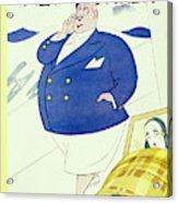 New Yorker July 16 1932 Acrylic Print