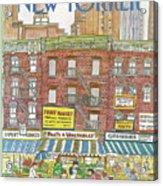 New Yorker July 18th, 1983 Acrylic Print