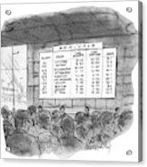 New Yorker July 4th, 1970 Acrylic Print
