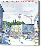 New Yorker July 6th, 1981 Acrylic Print