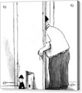 New Yorker July 8th, 1996 Acrylic Print