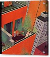New Yorker June 12th, 1937 Acrylic Print