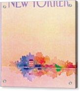 New Yorker June 13th, 1983 Acrylic Print