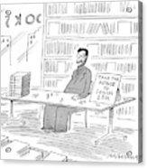 New Yorker June 22nd, 1998 Acrylic Print