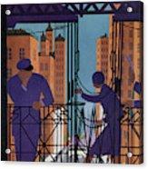 New Yorker June 3rd, 1933 Acrylic Print