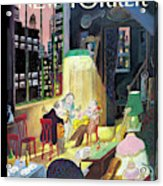 New Yorker March 13th, 2006 Acrylic Print