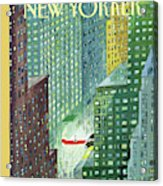 New Yorker March 28th, 1994 Acrylic Print
