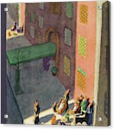 New Yorker March 2nd, 1935 Acrylic Print