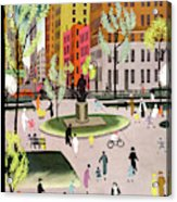New Yorker May 18th, 1935 Acrylic Print