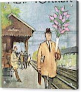 New Yorker May 1st, 1965 Acrylic Print