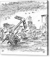 New Yorker May 20th, 1944 Acrylic Print