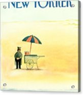 New Yorker May 25th, 1987 Acrylic Print