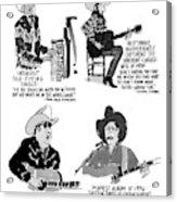 New Yorker May 27th, 1996 Acrylic Print