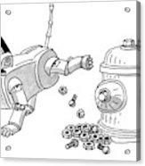New Yorker May 31st, 1999 Acrylic Print