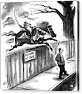 New Yorker November 14th, 1994 Acrylic Print