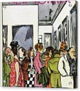 New Yorker November 19th, 1966 Acrylic Print