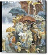 New Yorker November 21st, 2005 Acrylic Print by Peter de Seve