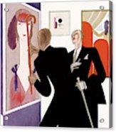 New Yorker November 29th, 1930 Acrylic Print