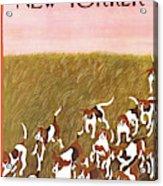 New Yorker November 6th, 1965 Acrylic Print