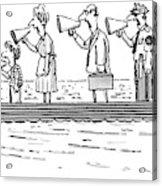 New Yorker October 10th, 1983 Acrylic Print