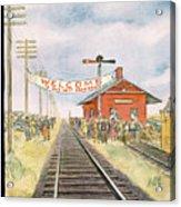 New Yorker October 11th, 1952 Acrylic Print