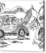 New Yorker October 20th, 1997 Acrylic Print