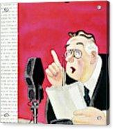 New Yorker October 3 1936 Acrylic Print